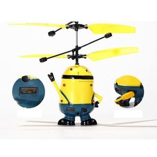 Đồ chơi Minion bay cảm ứng có điều khiển [ĐƯỢC KIỂM HÀNG] [ĐƯỢC KIỂM HÀNG] - SHOPBAN1055VN thumbnail