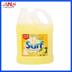 Nước rửa chén Surf chai 4kg