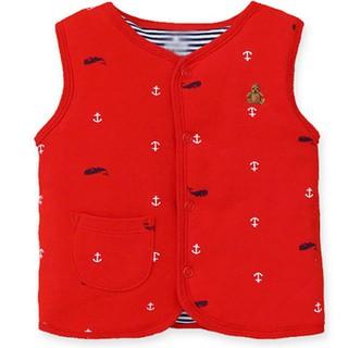 Áo gile cotton chất mềm mịn cùng hoạ tiết xinh xắn cho bé - AGL-1 thumbnail