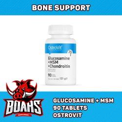 OSTROVIT GLUCOSAMINE MSM CHORONTIN - HỖ TRỢ XƯƠNG KHỚP HIỆU QUẢ (90 VIÊN)