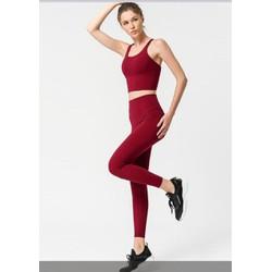 Set đồ tập gym thể thao yoga nữ