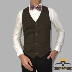 Áo ghi lê nam đồng phục nhà hàng công sở áo ghile nam đẹp phong cách hàn quốc áo gile nam đen áo gi lê tphcm cao cấp