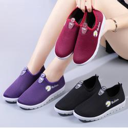 Giày Sneaker Thể Thao Nữ dạng lười hoa cúc cực hót 3 màu