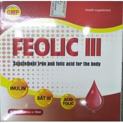 Thực phẩm chức năng bổ sung sắt Feron B9 Mediphar Usa Lọ 120 viên nang mềm (Bổ sung sắt và các vitamin tạo máu)