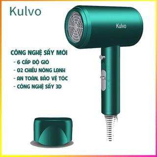 Máy sấy tóc Kulvo Kaizo Mart TẶNG MŨ CHÙM TÓC- 6 chế độ - 2 chiều nóng lanh - Công nghệ ION chống hư tổn - Kaizo Mart - Kulvo thumbnail