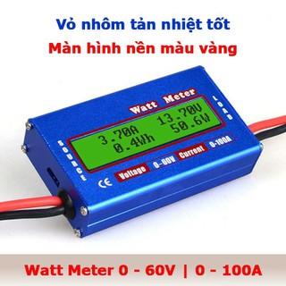 Máy đo dòng điện điện áp công suất watt metter 100A - Phụ kiện tuyệt vời cho các mạch DC, hệ thống năng lượng mặt trời và hệ thống pin dự phòng. - MÁY ĐO DONG ĐIỆN thumbnail