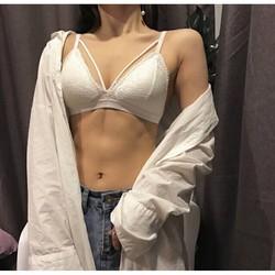 Bralette sexy- Áo bra ren đan dây chéo ngực