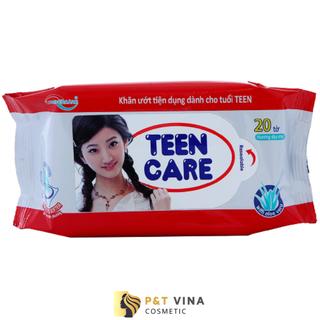 [Chính Hãng] Khăn Giấy Ướt Teen Care 20 Tờ Đỏ - Teen Care 20 Tờ Đỏ thumbnail