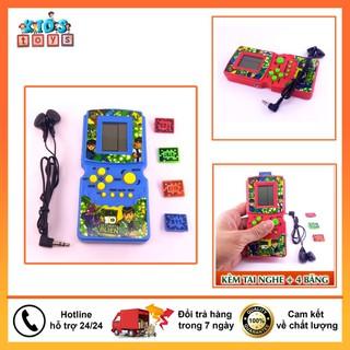 Máy Chơi Game Cầm Tay Brick Game Tuổi Thơ Kèm Tai Nghe - 5544018827 thumbnail