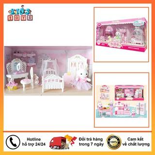 Đồ Chơi Búp Bê - Đồ Chơi Búp Bê - bộ phòng công chúa thỏ cho bé - 6044127336 thumbnail