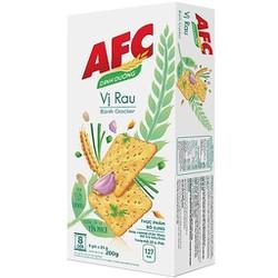 Bánh Kinh Đô AFC Dinh Dưỡng Vị Rau Cải Hộp 200g