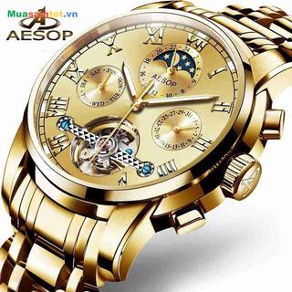 Đồng hồ cơ nam AESOP CHÍNH HÃNG - Siều Bền AZ12 thumbnail