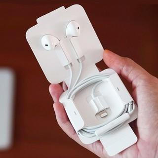 Tai Nghe Iphone Chân Dẹp, Âm Thanh Cực Hay, Tự động kết nối Bluetooth - Bảo Hành 6 Tháng 1 Đổi 1 - PGH-112 thumbnail