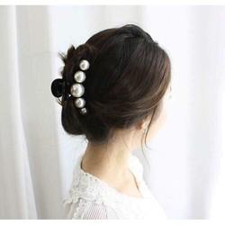 Kẹp tóc Ngọc Trai Hàn Quốc, KẸP TÓC CÀNG CUA ĐÍNH NGỌC TRAI HÀN QUỐC, KẸP TÓC HÀN QUỐC