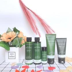 (SALE) Bộ Mỹ phẩm Skin care Organic có nước hoa hồng, sữa dưỡng, serum , tẩy trang, kem dưỡng Nhật Bản