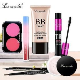 Bộ Trang Điểm Lameila 7 Món Từ A Đến Z Bộ Makeup Đầy Đủ Set Trang Điểm Chuyên Nghiệp - BTD7M