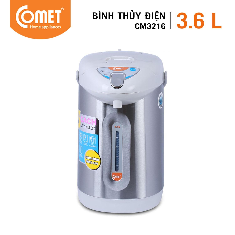 Bình thủy điện COMET - CM3216 - Dung tích 3.6L