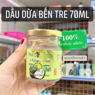 DẦU DỪA - TINH DẦU DỪA - dầu dừa bến tre 70ml thumbnail