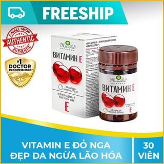 Vitamin E đỏ Nga đẹp da, cân bằng nội tiết tố nữ - Hộp 30 viên - enga1h thumbnail