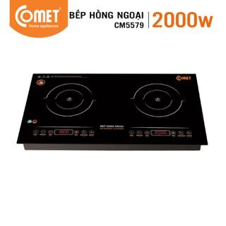 Bếp hồng ngoại đôi Comet CM5579 - CM5579 thumbnail