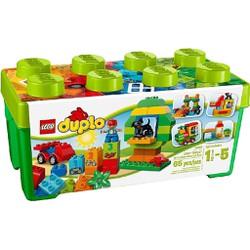 Mô Hình LEGO Thùng Gạch Xanh DUPLO Vui Nhộn 65 Mảnh Ghép  - 10572