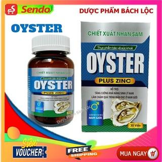 Hàu Biển Oyster Plus Zinc - tăng cường sinh lý phái mạnh- Lọ 30 viên - Oyster Plu thumbnail
