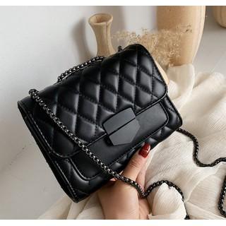 Túi đeo chéo nữ trần trám khóa nhọn thời trang XTHT 463 - TN 463 thumbnail