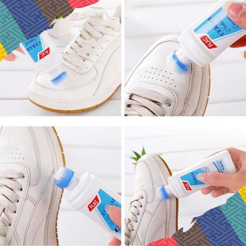Chai Vệ Sinh Giày Dép Plac - Chai Tẩy Giày PLac Tẩy Mọi Vết Bẩn Giày 2
