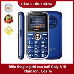 Điện thoại cho người già Goly A10, Loa 5D , Viền thép , Màn hình 1.8 Pin 1.000 mah - Hàng chính hãng