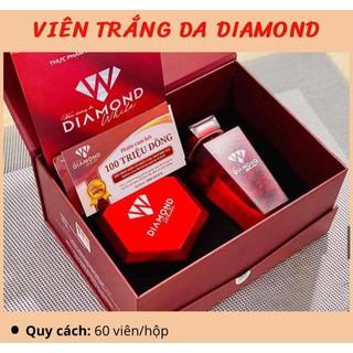DIAMOND MWHITE VIÊN UỐNG TRẮNG DA NGỌC TRINH [MUA 2 HỘP TẶNG 1 SỮA ONG CHÚA] - viên uống trắng da thumbnail