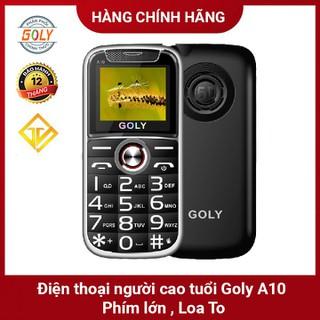 Điện thoại người già Goly A10 Viền kim loại , Phím lớn , Loa 5D siêu to - Hàng chính hãng - Goly A10 thumbnail