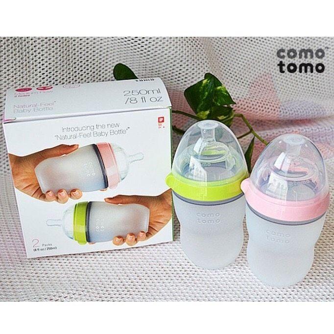Bình Sữa Comotomo150/250ml Cam Kết Chính Hãng - Bình Sữa Cho Bé