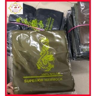 Võng Dù Lính 2 lớp loại tốt, Võng Du Lịch tặng kèm 5m dây dù - 002 thumbnail