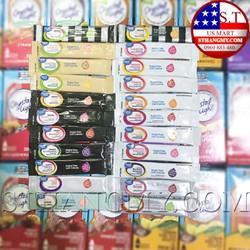 Combo 20 gói (20 vị) bột pha nước trái cây Great Value low carb cho DAS, Keto