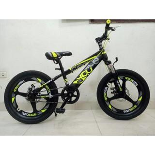Xe đạp thể thao địa hình vành đúc -xe thời trang mẫu mới 20 inch 7-10 tuổi - vành đúc - vành đúc thumbnail