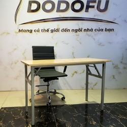 Bàn máy tính chân gấp Tại Hải Phòng - Nội Thất DoDoFu