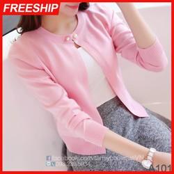 Áo khoác len cardigan nữ chất mềm mịn đẹp - ĐƯỢC KIỂM TRA HÀNG