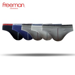 Quần lót nam Freeman - chất liệu cotton [Combo 5 cái - Hàng chính hãng] BO303