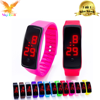 đồng hồ trẻ em - SPB_Đồng hồ led mặt kiếng thumbnail