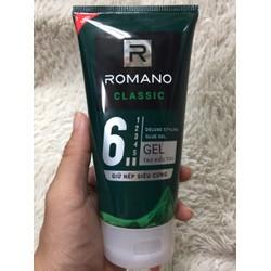Gel Tạo Kiểu Tóc Siêu Cứng ROMANO - Classic Deluxe Styling Glue Gel 150g
