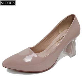 Giày cao gót nữ - giày công sở nữ -giày nữ SODOHA gót cao 7,5cm - SDH-T22.. thumbnail