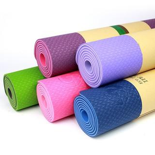 Thảm Tập Yoga Tập Gym Cao Su Tpe 2 Lớp Dày 6Mm Cao Cấp Siêu Bền Tiện Ích - o4a1ozvfwo thumbnail