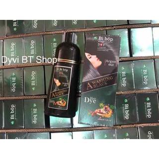 Dầu gội thảo dược phủ bạc đen tóc BiBop Nhật - 002 thumbnail