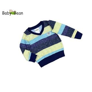 Áo Len Cổ Tim Kẻ Sọc bé trai BabyBean - BB238 thumbnail