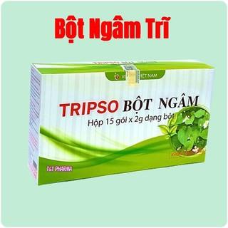 Bột ngâm trĩ Tripso- Giúp Tiêu viêm, giảm đau, cầm máu- Hộp 15 gói - Bột ngâm trĩ Tripso thumbnail