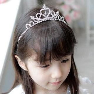 Cài tóc vương miện đính đá lấp lánh cho bé- cài tóc công chúa - cài tóc công chúa thumbnail