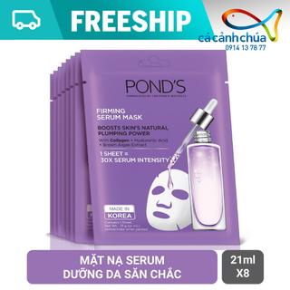 Combo 8 mặt nạ tinh chất săn chắc da Pond s Firming Serum Mask 21ml - Hàng công ty - Combo 8 mặt nạ giấy Pond s tím thumbnail