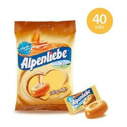 (40 viên) kẹo cứng ALPENLIBE hương sữa CARAMEN