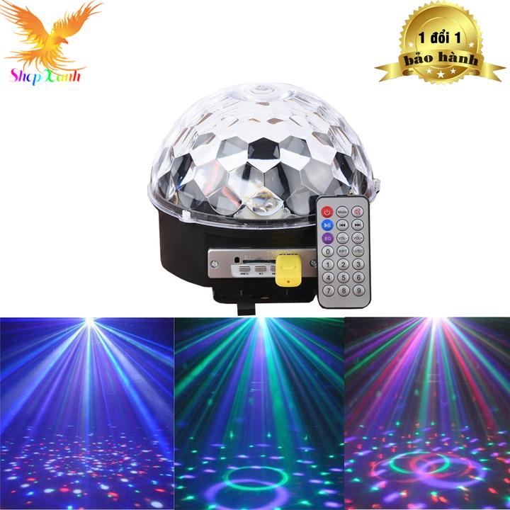 Đèn LED vũ trường cảm ứng nhạc có remote-den nhay-den chop