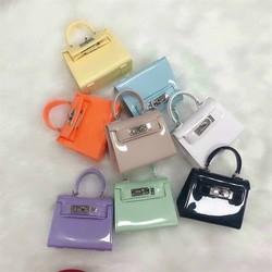 Túi xách tay Hm kelly silicon mini nhon thời trang mới